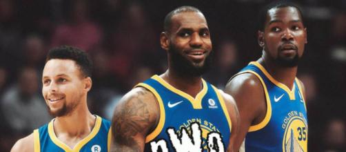 LeBron to meet with Warriors - (Image: YouTube/Warriors)