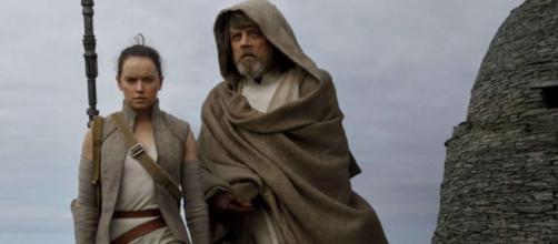 Luke Skywalker y algunas de 'The Last Jedi'
