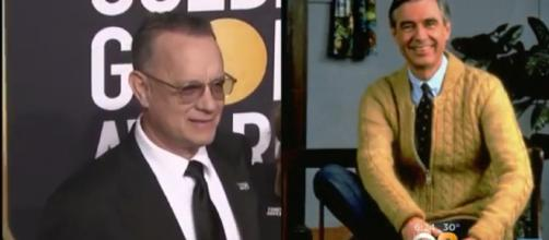 Tom Hanks to play Fred Rogers in biopic. [image source: CBS New York/ YouTube screenshot]