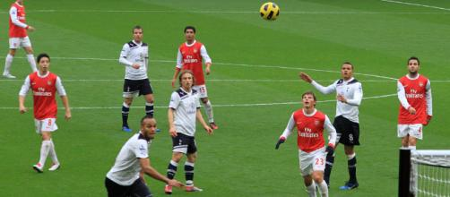 Tottenham and Arsenal will come face-to-face this weekend. [Image via: Ronnie McDonald/Wikimedia Commons]
