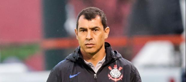 Fabio Carille hace comentarios del Corinthians y su victoria