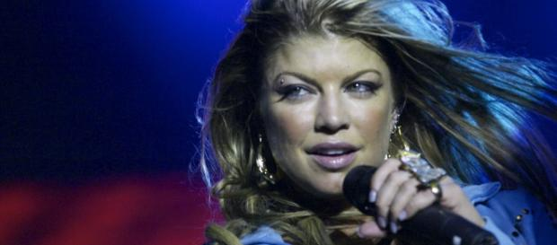 Fergie performing with the Black Eyed Peas in Anhembi, São Paulo, Brazil [image credit: Alexandre Cardoso/Flickr]