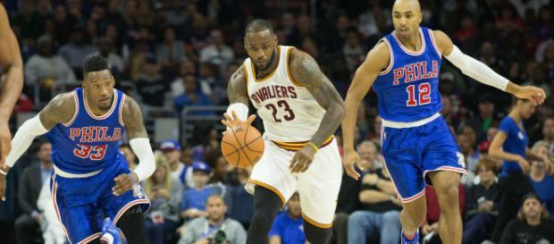 LeBron James podría ir a Filadelfia