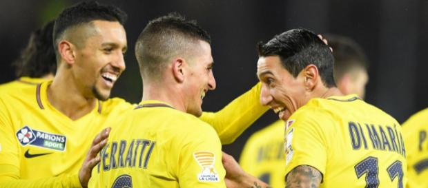 Les Parisiens tout sourire après leur qualification 3-2 à Rennes