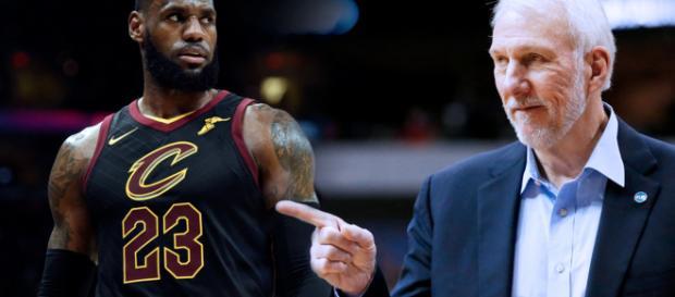 Spurs Noticias: Gregg Popovich habla sobre la aparicion de Lebron