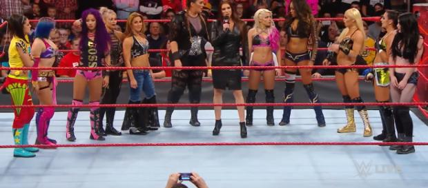 Stephanie McMahon's original announcement for the first Women's Royal Rumble. - [YouTube Screen Cap: WWE]