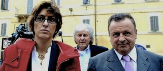 Attorneys Guilia Bongiorno and Luca Maori representing Raffaele Sollecito with permission of TJMK - truejustice.org