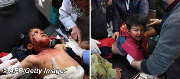Turcia a folosit NAPALM împotriva civililor în provincia Afrin din Siria - Foto: © AFP/Getty Images