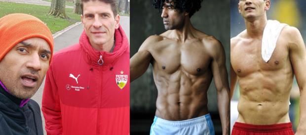 VfB Stuttgart: Wer ist der schönste Gomez? Fußballer oder vegan Fitness Coach Mario Gomez vs. Karlo Grados Gomez