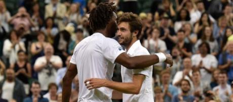 Wimbledon : Simon vient à bout de Monfils et accède aux huitièmes - rtl.fr