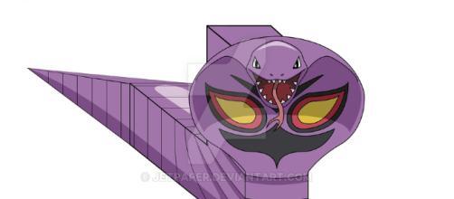 ekans serpiente de la serie Pokemón
