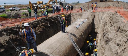 Desabastecimiento del servicio de agua en 13 Delegaciones de Ciudad de México.