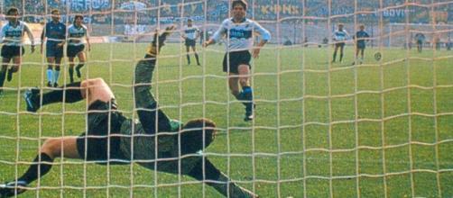 Fiorentina-Inter della stagione 1988/89: Matthaeus su rigore porta in vantaggio i nerazzurri