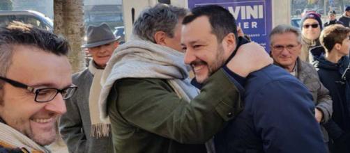 Il candidato premier della Lega, Matteo Salvini