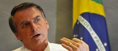 O deputado federal Jair Bolsonaro, presidenciável do PSL