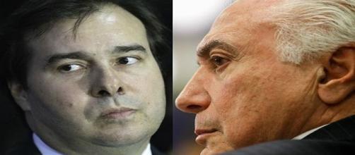 Rodrigo Maia cobra recursos do Palácio do Planalto