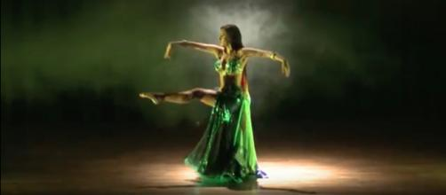 The art of belly dancing. Image credit: Jasirah Poland/YouTube