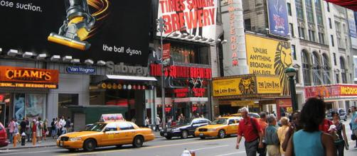 Times Square in New York City (Image Credit: click-see, Wikimedia Commons)