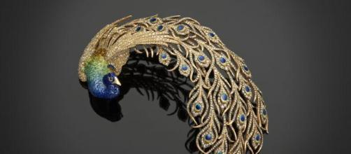 """Uno dei gioielli della mostra """"Tesori dei Moghul e dei Maharaja"""" a Palazzo Ducale (Venezia)"""