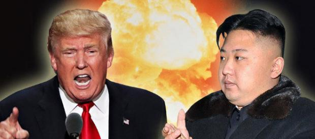 Disputa verbală dintre Donald Trump și Kim Jong-un a devenit penibilă în raport cu gravitatea subiectului - Foto: www.dailystar.co.uk