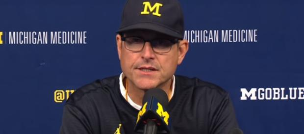 Former NFL running back vows to get Jim Harbaugh fired at Michigan. [image credit: ESPN/ YouTube Screenshot]