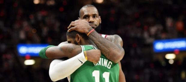LeBron and Kyrie Irving share a nice hug after Cavaliers beat ... - usatoday.com