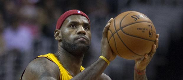 LeBron James could become a free-agent after this season. - [Image Credit: Keith Allison / Wikimedia Commons]