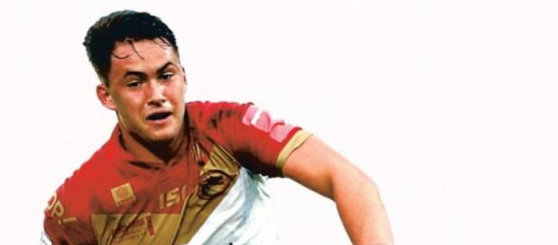 Lucas Albert - Catalans Dragons' rising star. Image Source: lindependant.fr