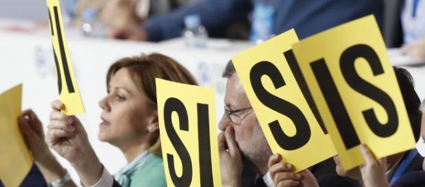 Presidenta suiza Doris Leuthard y Jean-Claude Juncker