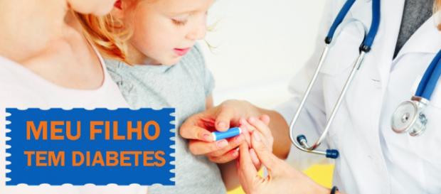 Saiba como agir depois de constatado o diabetes na infância. (Reprodução/Internet)