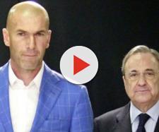 Florentino Pérez discute con Zidane por un crack del Barça - diariogol.com