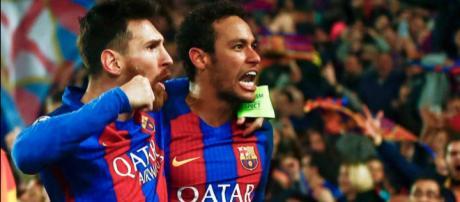 Leo Messi e Neymar sempre se levaram bem no Barça