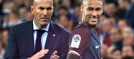 No es primera vez que Zidane elogia a Neymar.