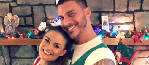 Brittany Cartwright and Jax Taylor celebrate Christmas. [Photo via Intagram]