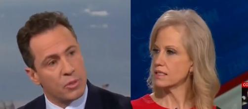 Chris Cuomo, Kellyanne Conway, via YouTube