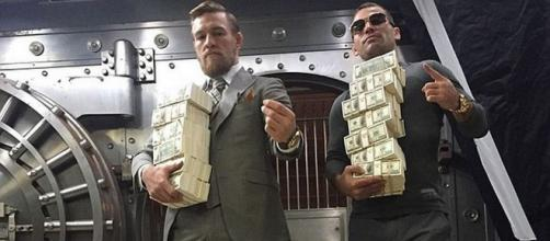 Conor McGregor - a mind for money and business ... image- irishmirror.ie