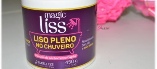 Creme magic liss - Embelleze, liso pleno no chuveiro!