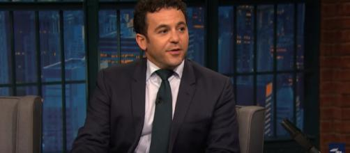 Fred Savage on Late Night with Seth Meyers. [image credit: Late Night with Seth Meyers/YouTube screenshot]