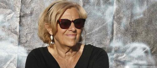 Manuela Carmena en su lucha contra la contaminación