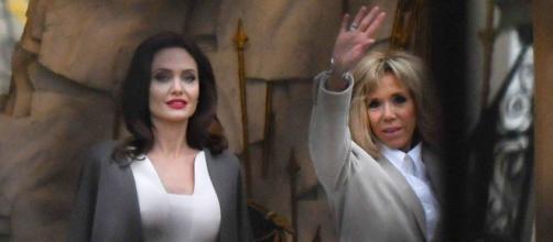 PHOTOS – Après Rihanna et Bono, Brigitte Macron reçoit Angelina ... - gala.fr