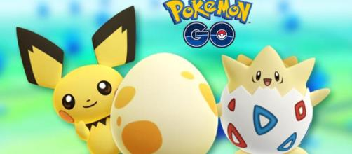Pokémon GO - Huevos de 2, 5 y 10km