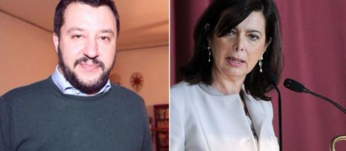 Salvini, nuove offese sessiste alla Boldrini. È polemica - improntalaquila.com