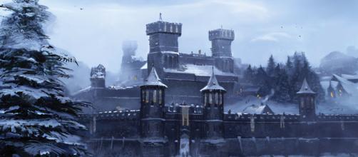 Winterfell, ilustración de Juego de Tronos