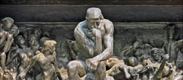 Auguste Rodin | The Gates of Hell (Detail: The Thinker) (1902) |