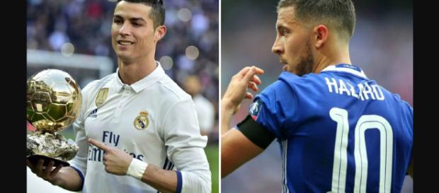 Cristiano Ronaldo lo quieren cambiar por Hazard