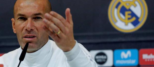 El real Madrid tiene a una semana el partido contra el PSG y Zidane tiene una estrategia