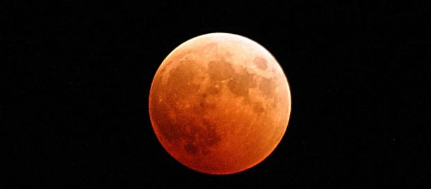 lunar eclipse bloody moon or blue moon - pixabay