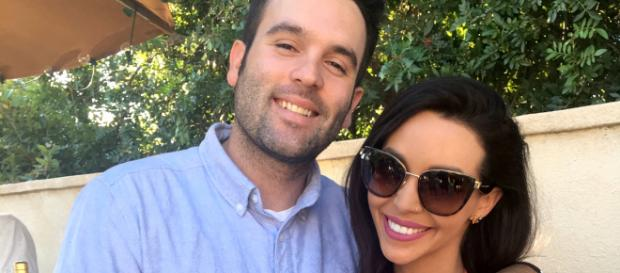 Mike Shay and Scheana Marie pose while married. [Photo via Mike Shay:Instagram]
