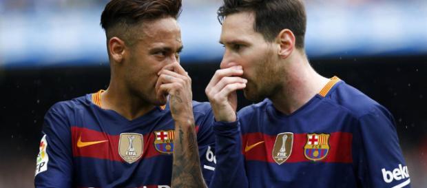 Neymar y Messi son grandes amigos