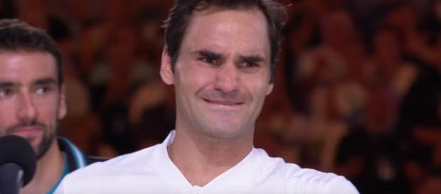 Roger Federer won the 2018 Australian Open (Image Credit: Australian Open TV/YouTube)